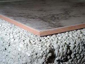 Утепление бетонных полов